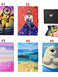 cheap -Case For Apple iPad Air / iPad (2018) Card Holder / with Stand / Auto Sleep / Wake Up Full Body Cases Sexy Lady / Animal / Dream Catcher Hard PU Leather