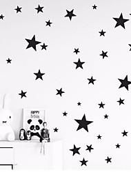 Недорогие -Декоративные наклейки на стены - Простые наклейки Звезды Детская