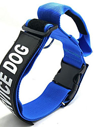 cheap -Dogs Collar Portable Adjustable Size Folding Quotes & Sayings Nylon Black Red Blue