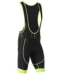 cheap -XINTOWN Men's Cycling Bib Shorts Bike Shorts Bib Shorts Pants / Trousers Breathable 3D Pad Quick Dry Sports Polyester Elastane Winter Black / Red / Black / Green / Black / Blue Road Bike Cycling