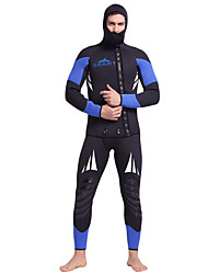 cheap -SBART Men's Full Wetsuit 5mm CR Neoprene Diving Suit Breathable Quick Dry Anatomic Design Full Body Diving Classic Fashion Spring Fall Winter / Stretchy