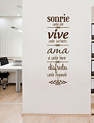 cheap -Decorative Wall Stickers - Plane Wall Stickers Characters Living Room / Office