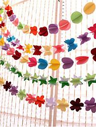 cheap -Unique Wedding Décor Pure Paper Wedding Decorations Wedding / Birthday Party Wedding / Birthday / Heart All Seasons
