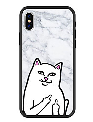 cheap -Case For Apple iPhone XS / iPhone XR / iPhone XS Max Pattern Back Cover Cartoon / Marble Hard Acrylic