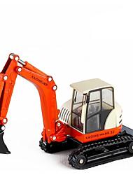 Недорогие -Игрушечные машинки Строительная техника Строительная техника Новый дизайн Металлический сплав Мини-автомобиль Транспортные средства Игрушки для вечеринки или подарок на день рождения для детей 1 pcs