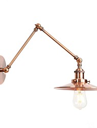 abordables -Style mini / Créatif Rétro / Vintage / Rustique Lumières de bras oscillant Bureau / Bureau de maison / Magasins / Cafés Métal Applique murale 110-120V / 220-240V 4 W