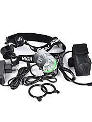 cheap -LED Bike Light Front Bike Light Headlight LED Mountain Bike MTB Bicycle Cycling Waterproof Multiple Modes Super Bright Portable Rechargeable Battery 8000 lm Natural White Camping / Hiking / Caving