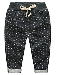cheap -Kids Boys' Basic Daily Galaxy Print Cotton Pants Black
