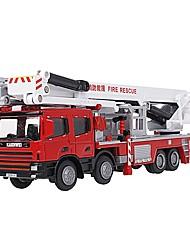 Недорогие -1:50 Игрушечные машинки Пожарные машины Пожарная машина Вид на город Cool утонченный Металл Мини-автомобиль Транспортные средства Игрушки для вечеринки или подарок на день рождения для детей