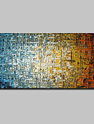 cheap -Oil Painting Hand Painted Abstract Modern Canvas Rolled Without Frame