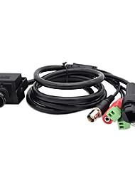 Недорогие -hqcam 1080p onvif 2.4 мини-камера для веб-камер, закрытая мини-камера ip, поддержка rs485, будильник, аудиовыход \ вход, cvbs 2mp