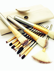 cheap -Professional Makeup Brushes Makeup Brush Set 12pcs Eco-friendly Professional Soft Full Coverage Comfy Artificial Fibre Brush Wooden / Bamboo for