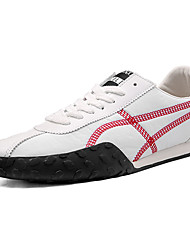 cheap -Men's Light Soles Canvas Summer Athletic Shoes Running Shoes Pink / White / Black / White / Gray