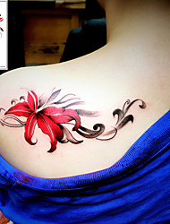 cheap -tattoo-sticker-body-arm-shoulder-temporary-tattoos-3-pcs-flower-series-romantic-series-smooth-sticker-safety-body-arts-party-evening-daily-masquerade