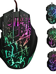 cheap -LITBest LOL Wired USB Gaming Mouse Led Light 4 Adjustable DPI Levels Keys 6 Programmable Keys