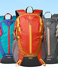 cheap -30 L Hiking Backpack Breathable Outdoor Hiking Cycling / Bike Camping Orange Blue Grey / Yes