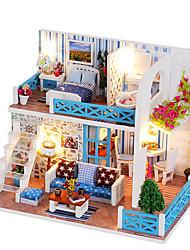 abordables -Maison de Poupées Créatif A Faire Soi-Même Exquis Mini Meuble Créatif En bois Enfant Jouet Cadeau