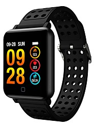 cheap -M19 Smart Watch BT Fitness Tracker Support Notify & Heart Rate Monitor Compatible Samsung/HUAWEI Android Phones & IPhone