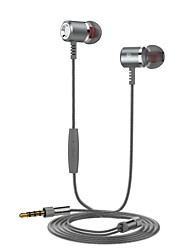 cheap -Langsdom LSDN400 Wired In-ear Earphone Cable No Stereo with Microphone Ergonomic Comfort-Fit Comfy Mobile Phone