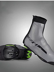 cheap -ROCKBROS Shoe Cover Cycling Shoes Cover / Overshoes Anti-Slip Cycling / Bike Black Dark Silver Unisex Cycling Shoes