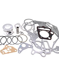 cheap -52.4mm Piston Full Cylinder Engine Gasket Set For Horizontal 110CC Enging Repair Kits