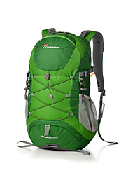 cheap -Mountaintop® 30 L Hiking Backpack Breathable Outdoor Hiking Cycling / Bike Travel Nylon Red Green Blue