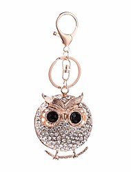 cheap -Keychain Owl Cartoon Sweet Ring Jewelry Rose Gold For Daily School