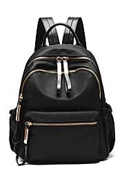 cheap -School Bag / Commuter Backpack Women's PU Leather Zipper Daily Black