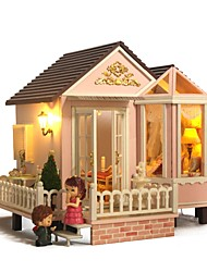 cheap -Dollhouse Lovely DIY Exquisite Romance Furniture Wooden Contemporary 1 pcs Kid's Adults' Girls' Toy Gift