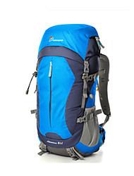 Недорогие -60 L Заплечный рюкзак Дожденепроницаемый Ультралегкий (UL) Износостойкость Высокая емкость На открытом воздухе Пешеходный туризм Путешествия 120 гр / м2 полиэфирная эластичная ткань Красный Синий Вино