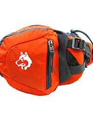 cheap -Jungle King 6 L Hiking Waist Bag Wear Resistance Outdoor Hiking Cycling / Bike Camping Nylon Orange Purple Blue