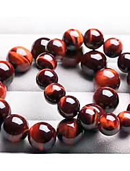 cheap -Women's Tiger's eye Stone Bead Bracelet Classic Beads Cathedral Creative Ladies Stylish Classic Folk Style Stone Bracelet Jewelry Yellow / Blue / Dark Red For Birthday Festival