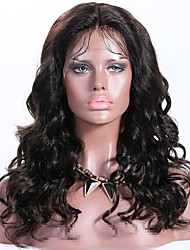 cheap -Remy Human Hair Lace Front Wig Layered Haircut style Brazilian Hair Wavy Black Wig 150% Density with Baby Hair Best Quality New Women's Long Human Hair Lace Wig Premierwigs