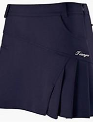 cheap -Women's Girls' Female 1 PCS Skirt Short Skirt Skort Golf Outdoor Exercise Sports & Outdoor Spring, Fall, Winter, Summer / Advanced / High Elasticity / Breathable