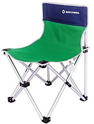 cheap -BEAR SYMBOL Fishing Chairs Camping Chair Rain Waterproof Anti-Slip Foldable Folding Oxford Cloth Aluminium for 1 person Fishing Camping BBQ Autumn / Fall Spring Green Coffee