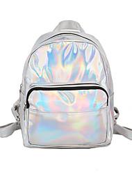 cheap -PU Zipper School Bag School Blushing Pink / Silver