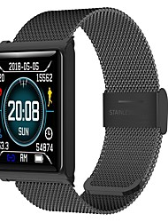 cheap -KUPENG N98 Men Smart Bracelet Smartwatch Android iOS Bluetooth Sports Waterproof Heart Rate Monitor Blood Pressure Measurement Touch Screen Pedometer Call Reminder Activity Tracker Sleep Tracker