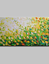 cheap -Mintura® Big Size Hand Painted Abstract Flowers Oil Painting On Canvas Modern Wall Art Pictures For Home Decoration No Frame