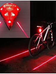 Недорогие -Лазер Светодиодная лампа Велосипедные фары Задняя подсветка на велосипед огни безопасности Горные велосипеды Велоспорт Велоспорт Водонепроницаемый Несколько режимов Супер яркий Портативные 14500 20 lm