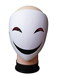cheap -Mask Halloween Props Halloween Mask Inspired by Cookie Anime Clown White Cartoon Cosplay Halloween Masquerade Adults' Men's Women's