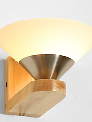 cheap -Retro Wall Lamps & Sconces Living Room / Indoor Wood / Bamboo Wall Light 220-240V 40 W