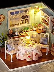 abordables -Maison de Poupées Adorable A Faire Soi-Même Exquis Romance Meuble En bois contemporain 1 pcs Enfant Adulte Fille Jouet Cadeau