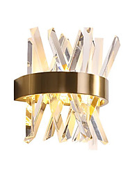 cheap -QIHengZhaoMing Crystal LED / Modern Contemporary Wall Lamps & Sconces Shops / Cafes / Office Metal Wall Light 110-120V / 220-240V 3 W / G9