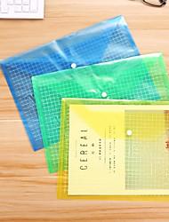 cheap -Plastics Transparent Body Home Organization, 5 Pieces Folders & Filing / Storage Bag / Desktop Organizers