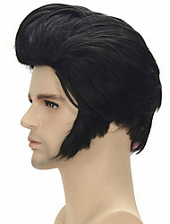 cheap -super star music singer Elvis Presley's cosplay wig celebrity wig resistant synthetic cosplay hair Halloween