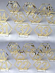 abordables -Acrylique Centre de table Pièces - Non personnalisé Marque-place Ornement 20 pcs Toutes les Saisons