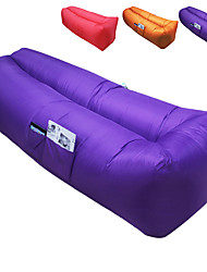 cheap -Air Sofa Inflatable Sofa Sleep lounger Air Bed Outdoor Waterproof Portable Fast Inflatable Polyester Taffeta 260*70 cm Fishing Beach Camping All Seasons / Ultra Light (UL)