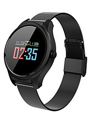 cheap -B35 Smart Watch Steel Stainless Bluetooth Fitness Tracker Support Notification/ Heart Rate Monitor Sports Smartwatch Compatible with iPhone/ Samsung/ Android Phones