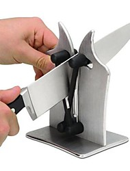 cheap -Steel Stainless Knife Sharpener Creative Kitchen Gadget Kitchen Utensils Tools Everyday Use 1pc
