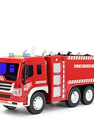 cheap -Toy Car Fire Engine Fire Engine Vehicle Metal Alloy Mini Car Vehicles Toys for Party Favor or Kids Birthday Gift 1 pcs